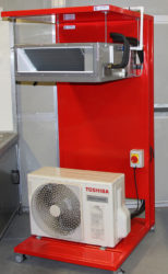 Toshiba training and test rig for SkillFRIDGE web